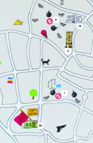 Where to go map 2010