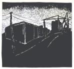 Eyes of the Docks, Woodcut prints