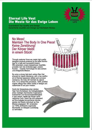 Guaranteed Top Quality and Design. No Mess! Maintain The Body In One Piece!